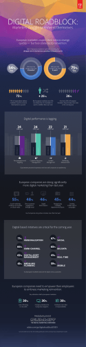 Adobe Digital Roadblock Infographic