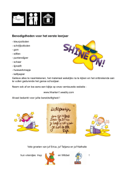 Download File - Eerste leerjaar HHarten Ninove