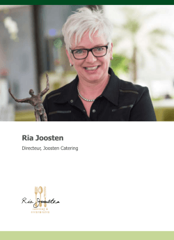 Ria Joosten - United by passion