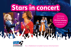 Stars in Concert - Euro Entertainment