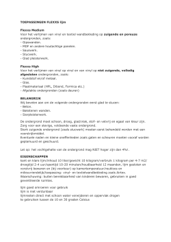 product informatie en instructies