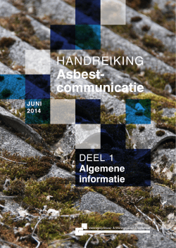 Download:Asbest - Vereniging BWT Nederland