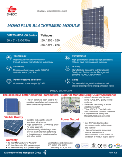 MONO PLUS BLACKRIMMED MODULE