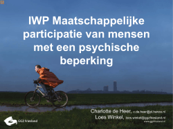 PP-presentatie 1 - Centre of Expertise Healthy Ageing