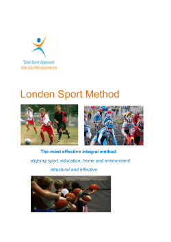 Services Londen Sport Method - Performance Branding Company