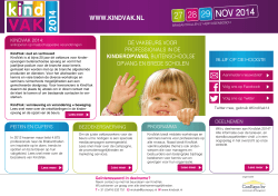 Brochure KindVak 2012
