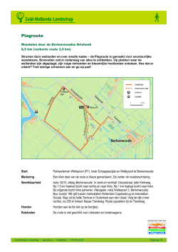 Download route (PDF) - Het Zuid