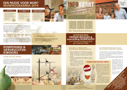 Download hier onze infokrant 2014