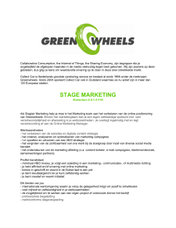 STAGE MARKETING