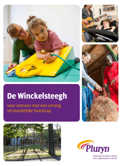 Brochure De Winckelsteegh