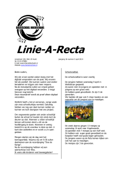 Linie-A-Recta - BS Moerschans