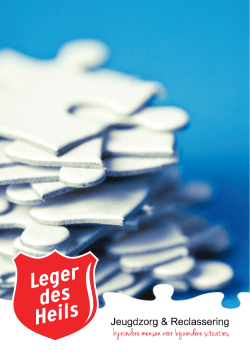 Leger des Heils folder