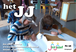 16 april 2015 - Sint Jozefschool