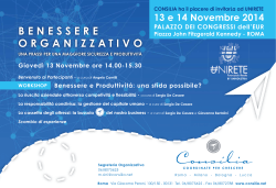 CFO-Evento Unirete 2014-Save The Date