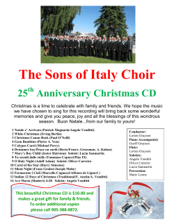 information on the christmas cd