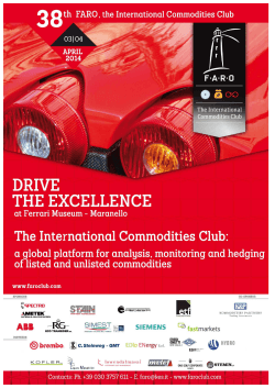 FARO is the International Commodities Club