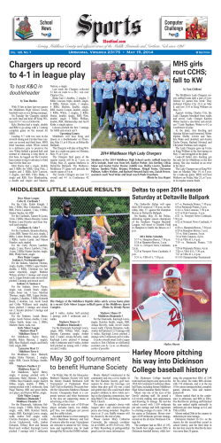 05.15.14 Section B - Southside Sentinel