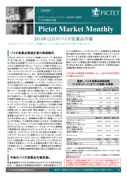 Pictet Market Monthly
