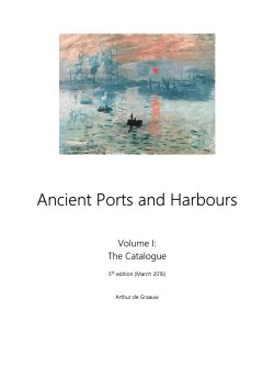 Ancient Ports and Harbours - Ancient Ports – Ports Antiques