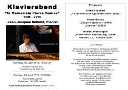 JJ Konzert April 2016 Programm - Jean