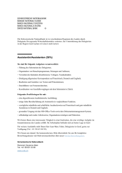 Assistent/in (50%)
