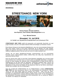 streetdance: new york - SquareOne Entertainment