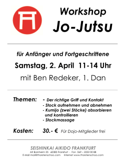 Workshop - Aikido und Systema in Frankfurt