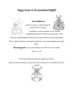 Happy Easter at the Gartenhotel Pfeffel
