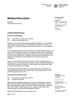 Medieninformation [Download *, 133.32 KB]