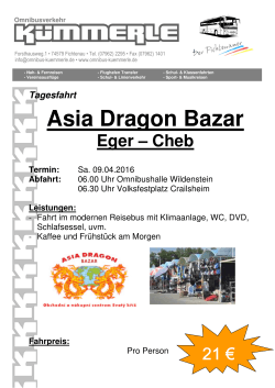 Asia Dragon Bazar