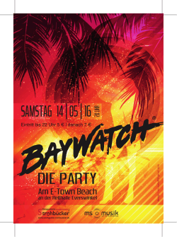 baywatch - party am e