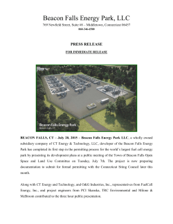 Beacon Falls Energy Park, LLC