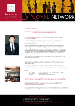 17.06. Royal Network Leo Martin
