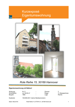 Rote Reihe 15, 30169 Hannover