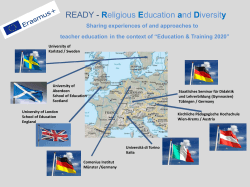 READY - Religious Education and Diversity