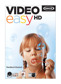 Was ist neu in MAGIX Video easy 5 HD?