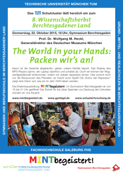 The World in your Hands: Packen wir`s an! - Your