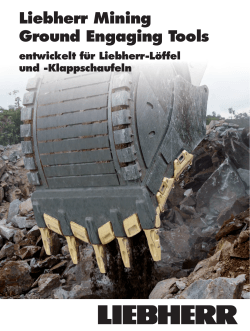 Liebherr Mining Ground Engaging Tools