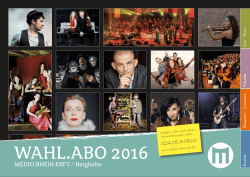 WAHL.ABO2016 Magazin