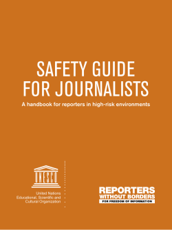 safety guide for journalists