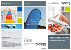 small planet airlines - Flughafen Paderborn Lippstadt