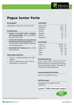 Pegus Junior Forte