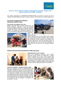 Refugee aid activities of SAM.I. members_rev_15