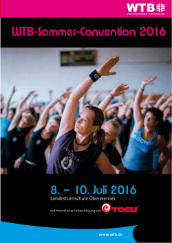 WTB-Sommer-Convention 2016