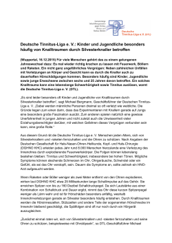 PDF-Download - Deutsche Tinnitus-Liga