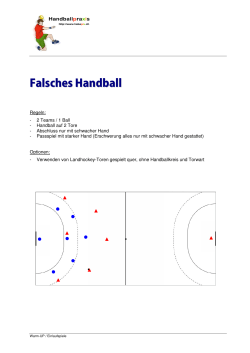 Falsches Handball