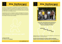 Gsiberger fight for your right!