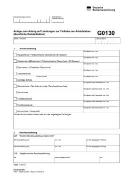 R0215 Internetformular Deutsche Rentenversicherung