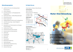 Mutter-Kind-Behandlung - LVR-Klinik Bedburg-Hau