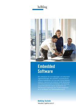 Teamflyer_Embedded Software